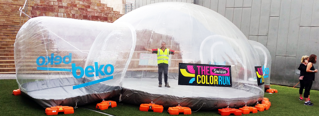 Colour Run Inflatable Dome