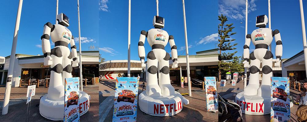 Netflix Inflatable Robot