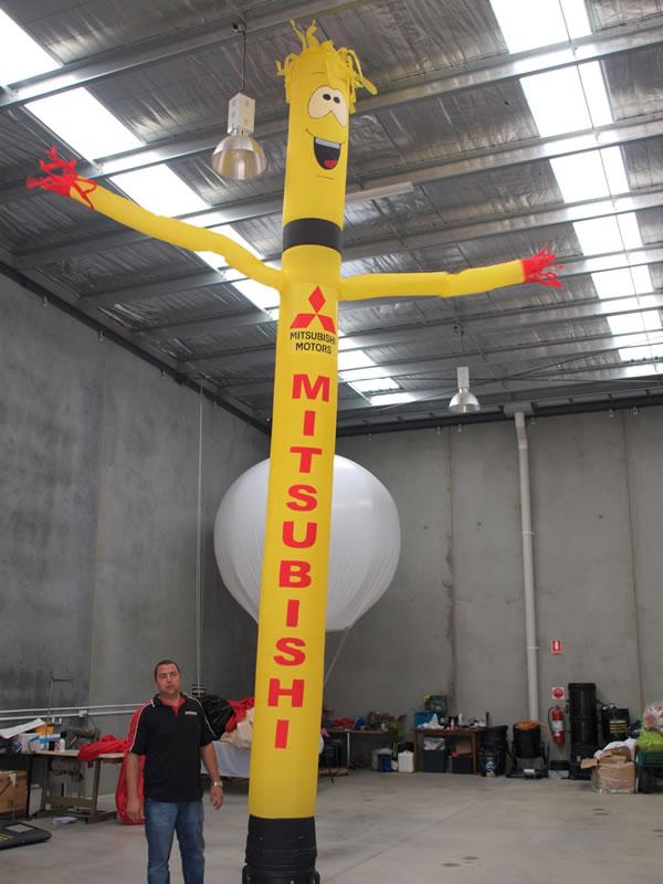 Fan That Blows Cold Air >> Air Dancer | Mr Inflatables