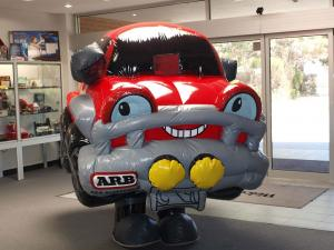 inflatable costumes car