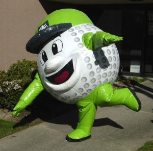 inflatable costumes golfball
