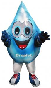 inflatable costumes water drop