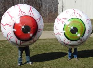 inflatable costumes eyeball
