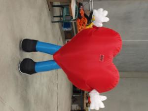 inflatable costumes heart