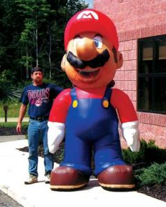 inflatable costumes mario