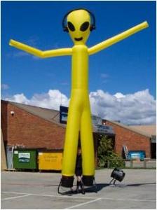 Air Dancer Yellow