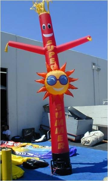 Air Dancer Red,sun