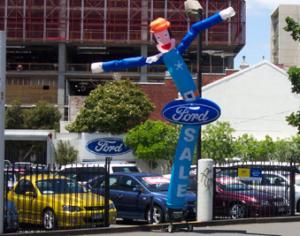 Air Dancer Blue