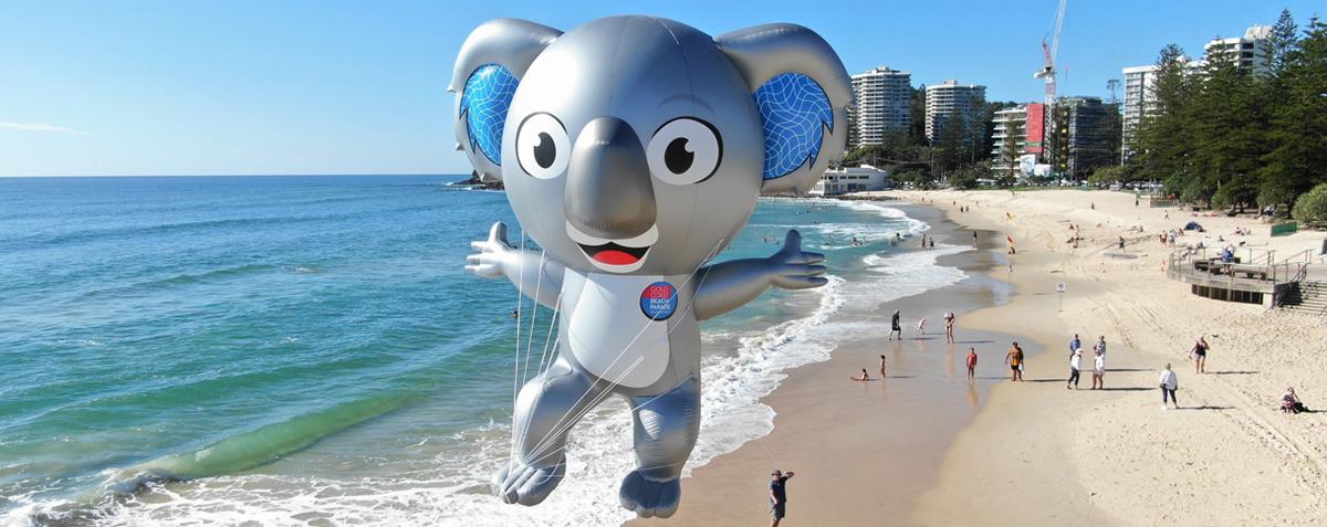 Flying Koala Inflatable Helium