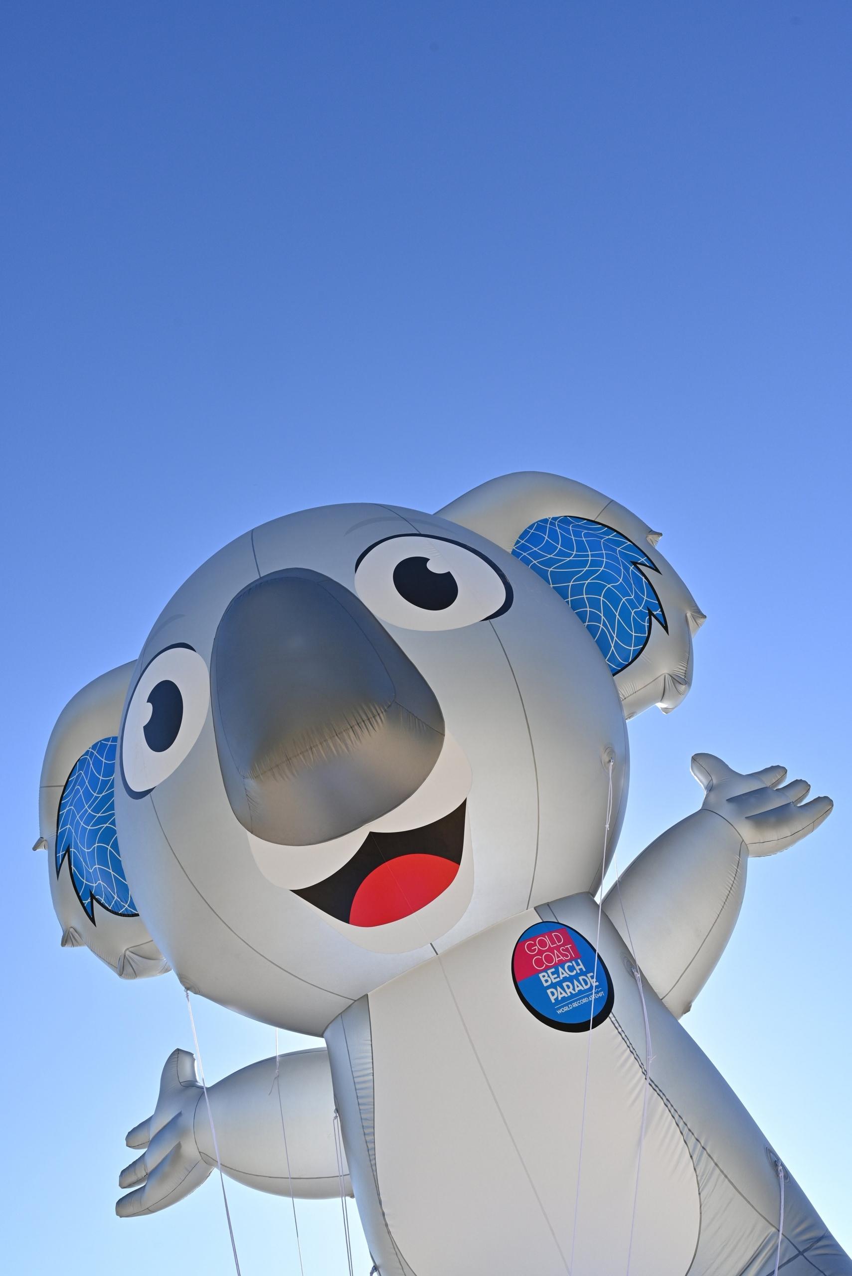 Gold Coast Beach Parade unveils mascot 'Burleigh'