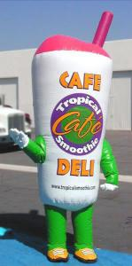 inflatable costumes drink